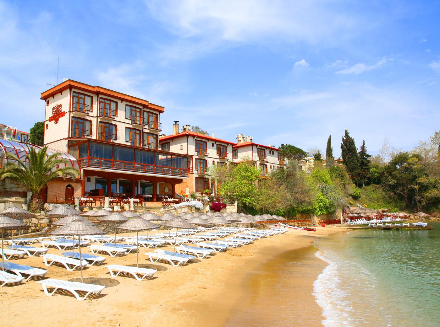 Sinop antik otel antik otel olarak çevre dostu bir otel olmaktan